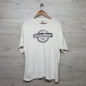 Vintage SnowGoer Graphic T Shirt. AMAZING! Perfect